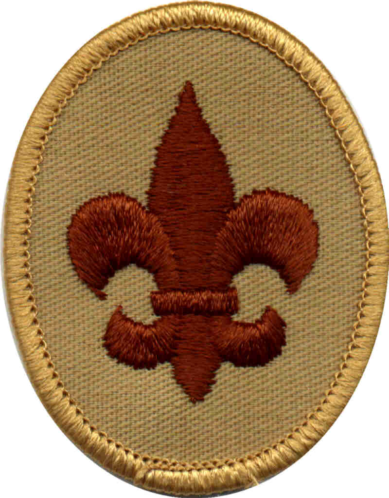 Scout Track | Tenderfoot Badge